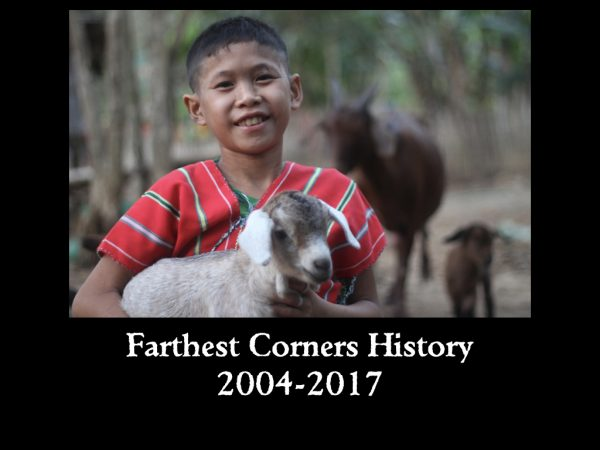 Farthest Corners History 2004-2017