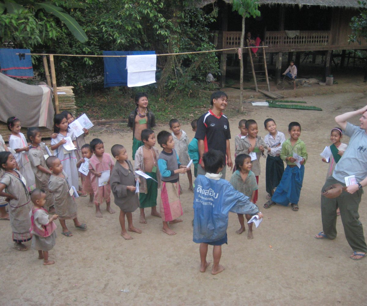 Children Evangelism Work at LTK Village