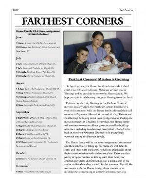 Farthest Corners Newsletter 2017-2